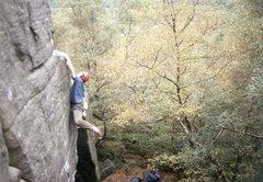 Rock Climbing Photo: Milena, Rivelin E66b