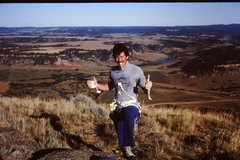 Rock Climbing Photo: September 1982:  Just lead the Tulgey Wood on Devi...