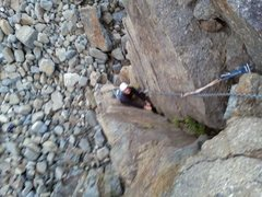Rock Climbing Photo: V-shaped corner