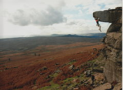 Rock Climbing Photo: e4 stanage
