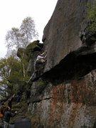 Rock Climbing Photo: E6 onsight