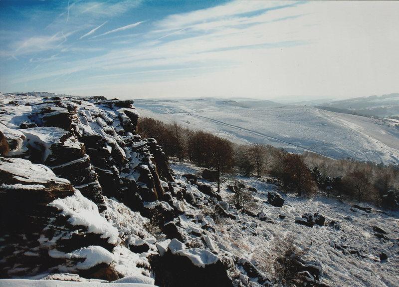 Rock Climbing Photo: stanage