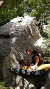 Rock Climbing Photo: Flower Beta