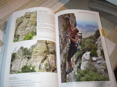 Rock Climbing Photo: A little fuzzy but it is a pic. Color tabs for eac...