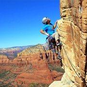 Rock Climbing Photo: Scenic Cruise Lead - Fun Moderates