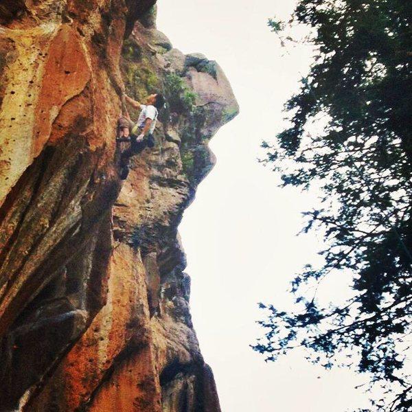 Scoop Lead - Peaks Crag, Flagstaff