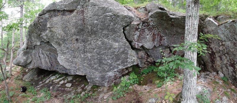 hidden wall right side