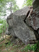 Rock Climbing Photo: looking back from corner on left side