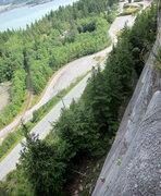 Rock Climbing Photo: Please forgive the exaggerating tilt