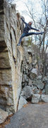 Rock Climbing Photo: Handful of fun boulder problems along the trail at...