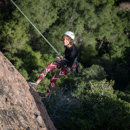 Rock Climbing Photo: Rapping at Pinnacles