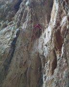 Rock Climbing Photo: Climbing on the Aegean sea