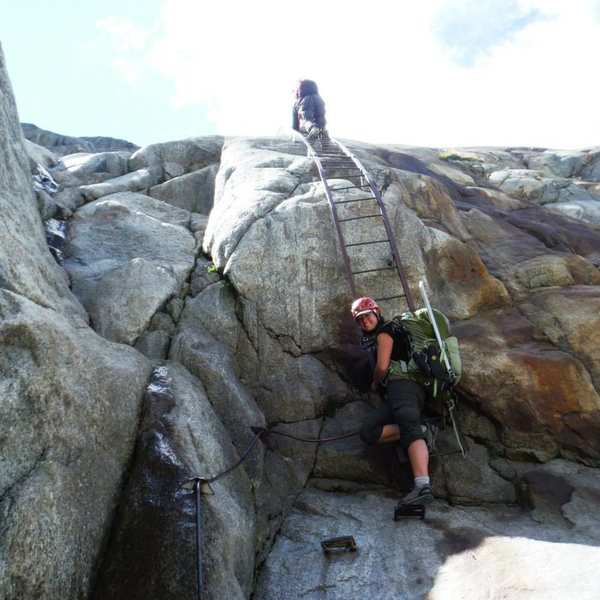 Rock Climbing Photo: Going for a walk =)