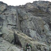 Rock Climbing Photo: Fun on the Grand Perron