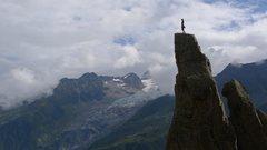 Rock Climbing Photo: Short little climb in pretty setting