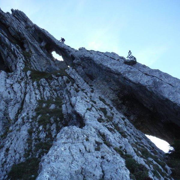 Rock Climbing Photo: Super fun climb at Bargy.