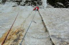Rock Climbing Photo: The Double Dike pitch