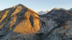 Rock Climbing Photo: Views across the drainage