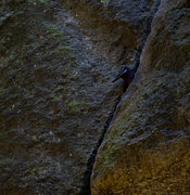 Rock Climbing Photo: the Wooden wedge comes to the iron age...