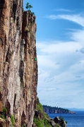Rock Climbing Photo: Nate Erickson and Ellen Brodrick on Feathery Tong....