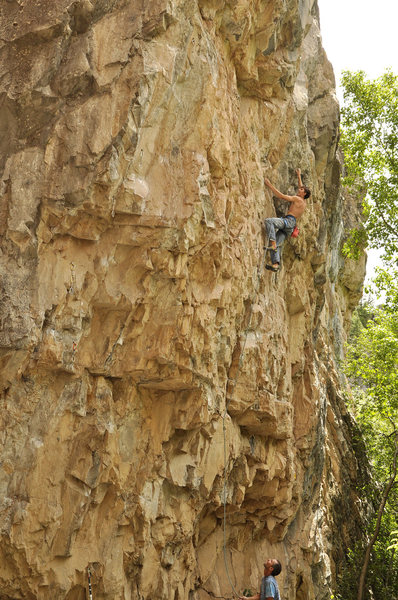 "Rock Climbing Photo: Hayden Kennedy on ""The Other Side""."