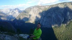 Rock Climbing Photo: Topping out El Capitan