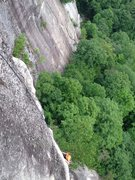 Rock Climbing Photo: What an amazing place for a beautiful climb!
