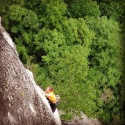Rock Climbing Photo: Amazing arete climbing... Torie