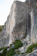 "Rock Climbing Photo: Climbers on ""Made in Japan"""