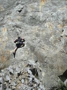 Rock Climbing Photo: upper half, good potential for a 2nd pitch
