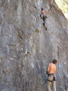Rock Climbing Photo: sneaky on memorial