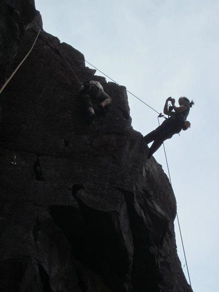 Rock Climbing Photo: falcon guide book photo shoot