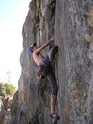 Rock Climbing Photo: thin feet