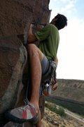 Rock Climbing Photo: Climbing in Idaho