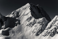 Rock Climbing Photo: The South Ridge is the left hand sky line. Photo b...