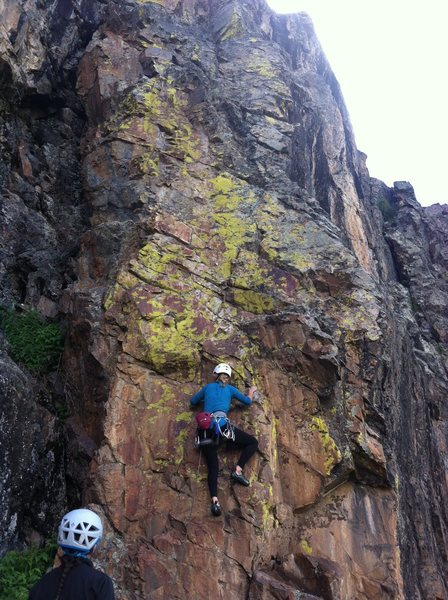 Sydney Olson gets the 3rd free ascent of San Juan Skyway.
