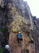Rock Climbing Photo: Sydney Olson gets the 3rd free ascent of San Juan ...