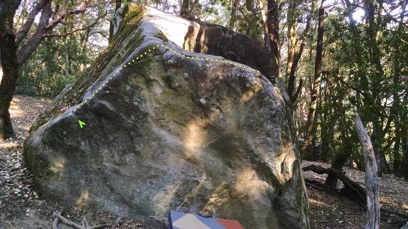 Rock Climbing Photo: Broken Pyramid Arete