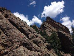 Rock Climbing Photo: A nice view of the ridge taken from N. Dinosaur Eg...