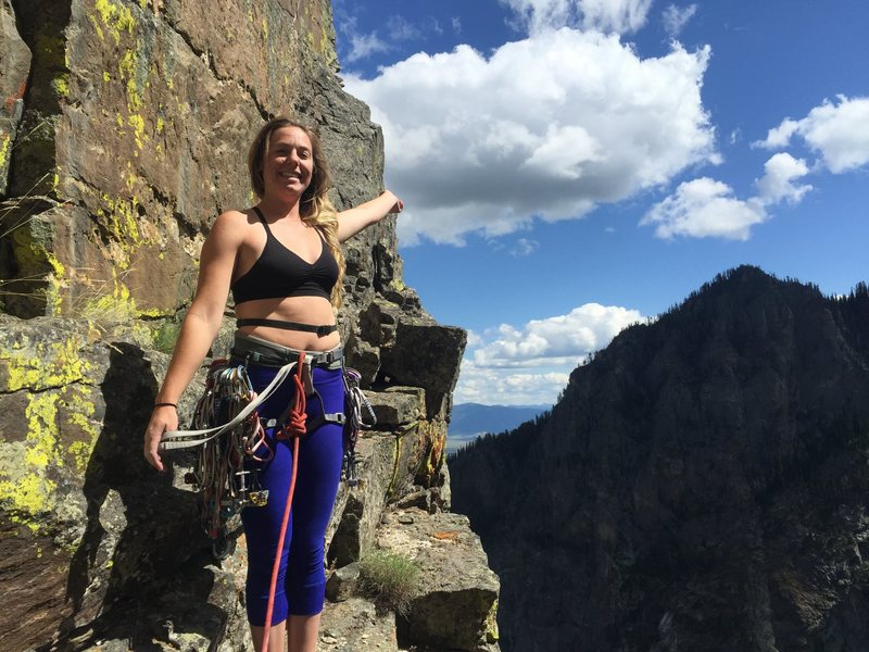 Rock Climbing Photo: Step Into My office... P3 of 'The Snaz' Teton Nati...