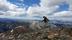 Rock Climbing Photo: Grey's Peak