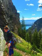 Rock Climbing Photo: 'The Snaz'- Death Canyon: Teton National Park: Wyo...