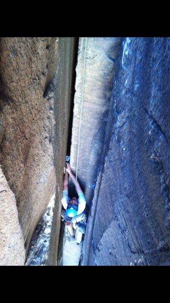 Rock Climbing Photo: slayin