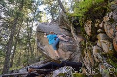 Rock Climbing Photo: E. Mathews