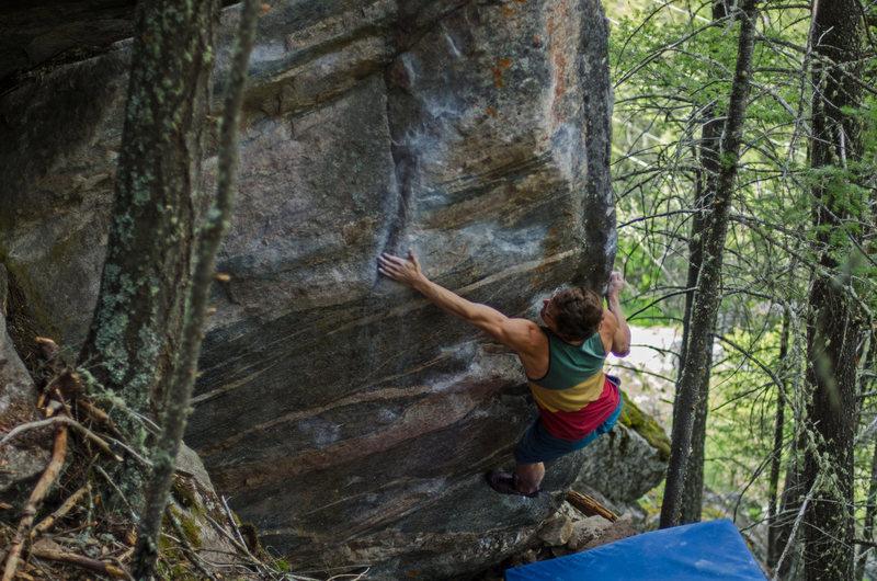 Rock Climbing Photo: Anderson Bouton