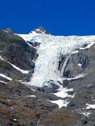 Rock Climbing Photo: 27 Mile Glacier and Sapphire PK in mid July.