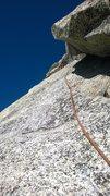 Rock Climbing Photo: Upper Royal's arch