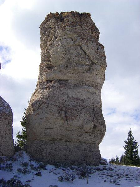 Rock Climbing Photo: ZZ, south face.