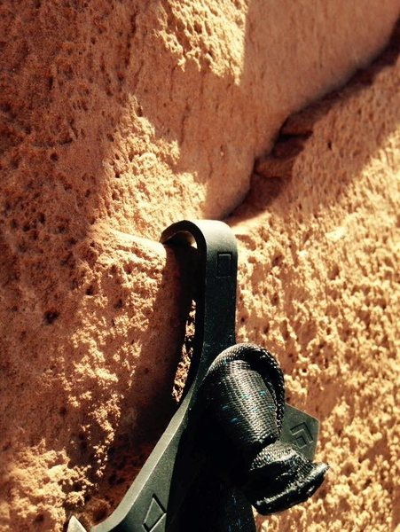 Rock Climbing Photo: opening hook. Theres one more after this. (a bigge...