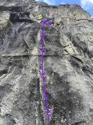 Rock Climbing Photo: Nice patch of rock.